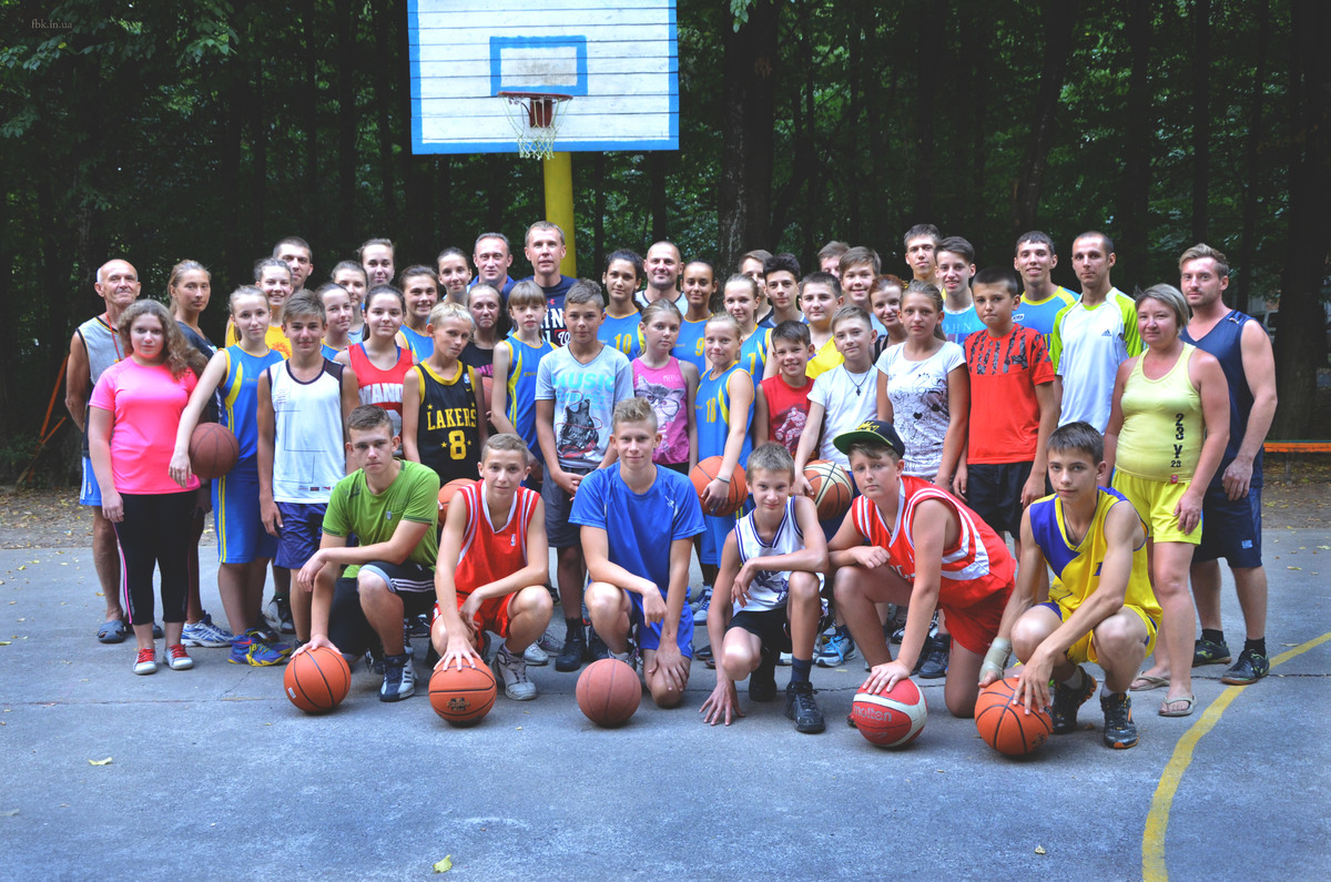 «Khmelnitsky Basketball Camp 2015»