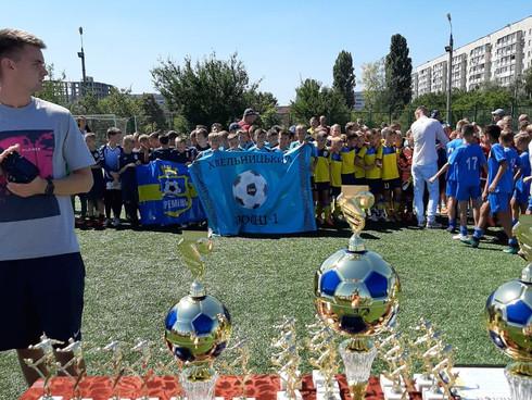 Вихованці ДЮСШ №1 на  ХХ Всеукраїнському турнірі з футболу серед юнаків 2008 р.н. при підтримці вихо