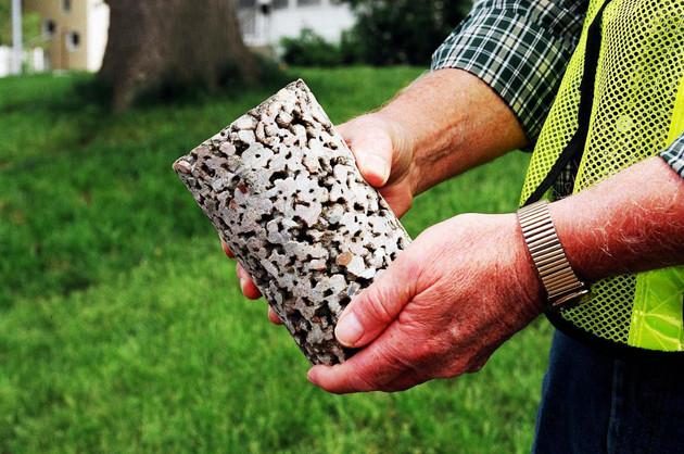 Steve Griggs Design | Porous Concrete