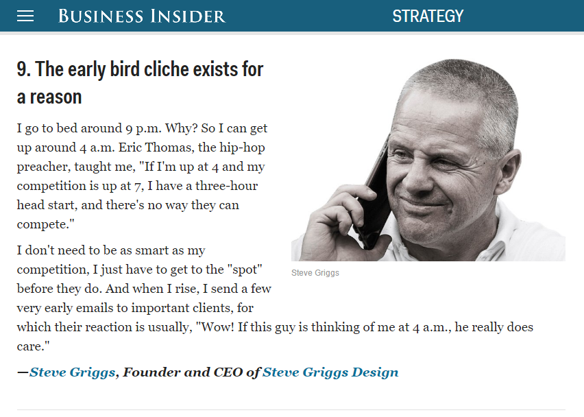 Steve Griggs Business Insider