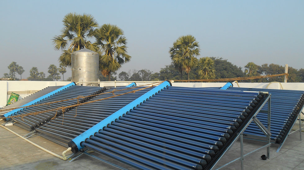 ETC На основе 2000 LPD Солнечный водонагреватель