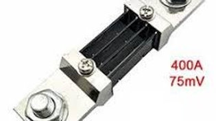 400A/75mV DC Current Shunt for Current Measurement
