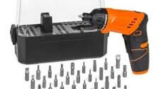 3.6V Li-Ion Cordless Orange Screw Driver Kit