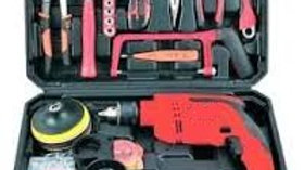 Multipurpose Reversible Power Tool Kit