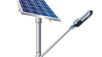 Solar Street Light (Complete Set - 1 Unit)