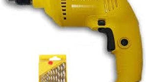 550W Impact Drill Kit