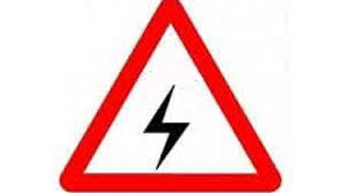 3 mm Traffic Sign Hip Retro Reflective Danger Warning Sign