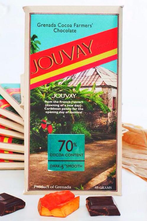 Tablette de chocolat Jouvay