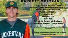 Millers Sign Pitcher Garrett Moltzan for the 2021 Season