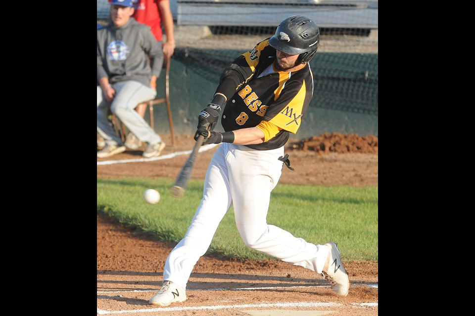 Eric Marriott was 3-for-5 with a pair of runs batted in in Game 3. Photo by Randy Palmer