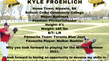 Miller Express Sign Pitcher and Infielder Kyle Froehlich for the 2021 Season