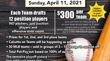 Miller Express Fundraising Baseball Draft