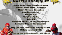 Millers Sign Catcher Martin Rodriquez for the 2021 Season