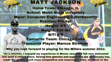 Pitcher Matt Jackson Returning to the Miller Express for the 2021 Season