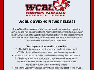WCBL COVID-19 Media Release