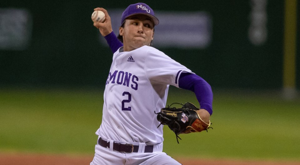 Former Miller Express pitcher Logan Hofmann had an incredible college season and is now the sixth-ranked prospect in Canada according to Canadian Baseball Network.