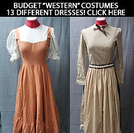 Budget Costumes For Rent: Western, Oklahoma, Carousel, Wagon, Music Man