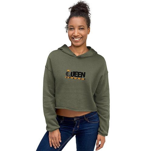 Queen Crop Hoodie