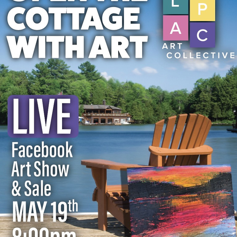 Facebook LIVE Art Show & Sale