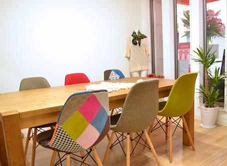 お茶と手芸を同時に満喫 三原支店『Knit café de maitake(ニットカフェでまいたけ)』オープン!
