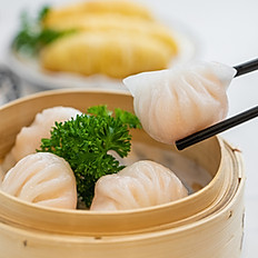 水晶鲜虾饺/Fresh Shrimp Dumplings