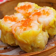 鱼子北菇烧卖/Pork Dumplings w/ Tobiko