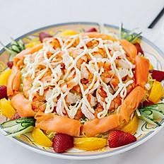 烟三文鱼鲜果沙律/Smoked Salmon Fresh Fruit Salad
