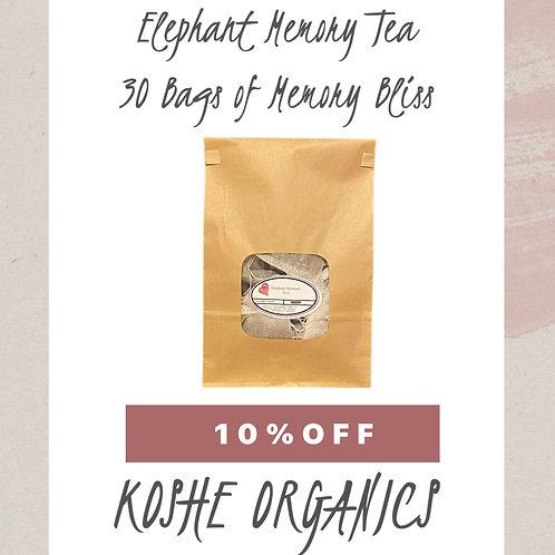 Elephant Memory Tea