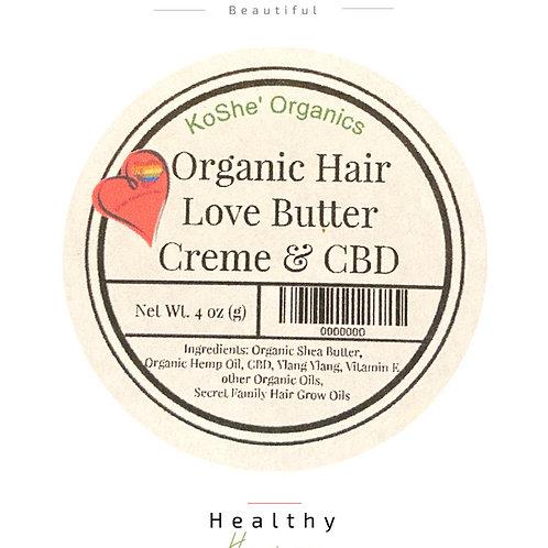 Organic Hair Love Butter Crème