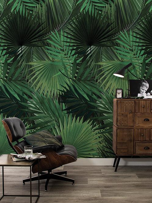 Botanisch behang - palm -  WP-501
