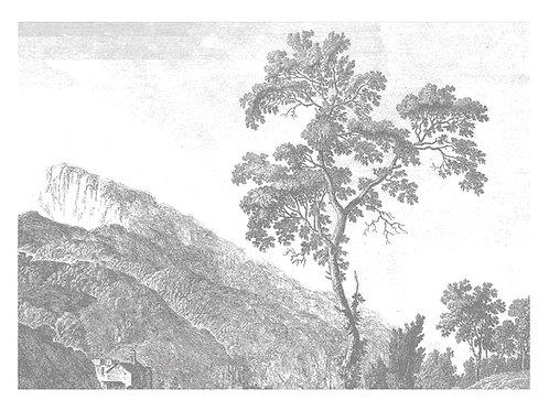 Fotobehang Engraved Landscapes l - WP-322