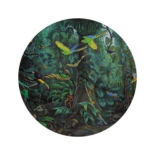 Tropisch landschap - behangcirkel - SC-022
