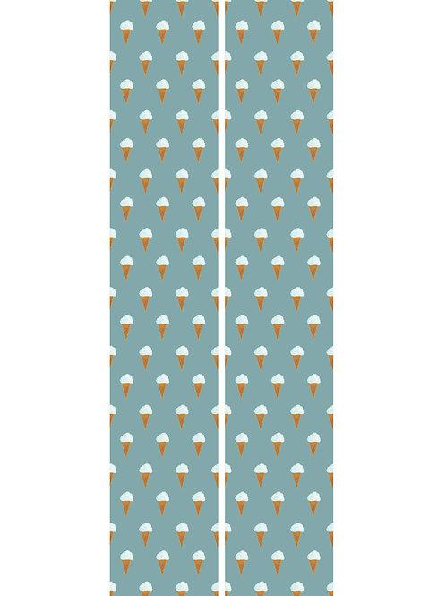 IJsjes behang - PETROL - WP-130