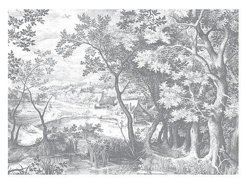 Fotobehang Engraved Landscapes ll - WP-649