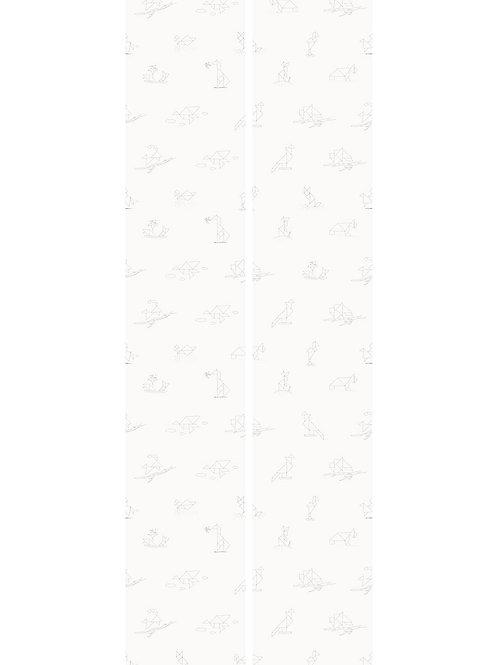 Tangram dieren behang - WP-424