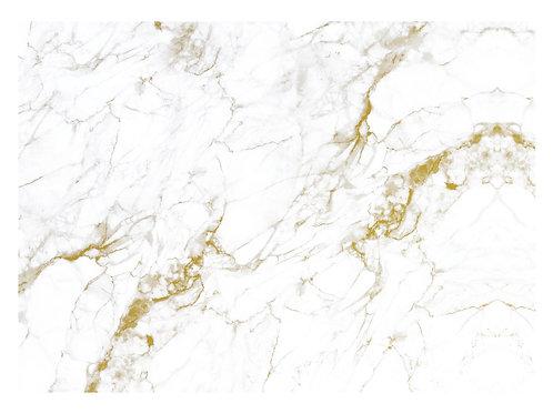 Fotobehang Marble - WIT / GOUD - WP-556