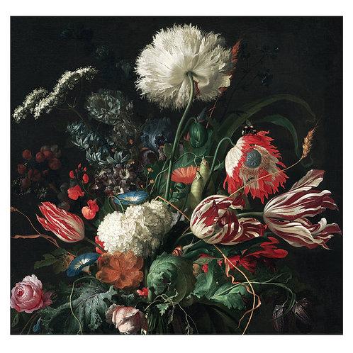 Fotobehang Golden Age Flowers - WP-210