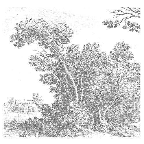 Fotobehang Engraved Landscapes V - WP-321