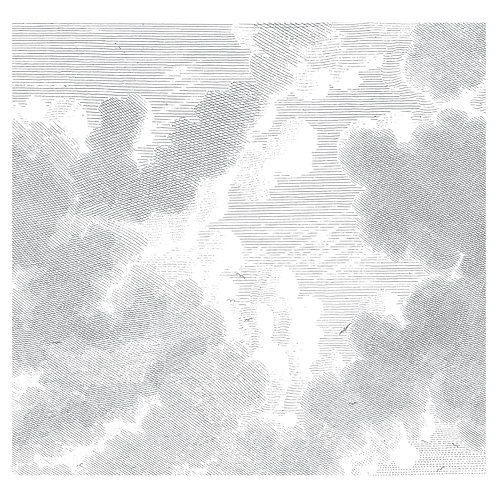 Fotobehang Engraved Cloudes ll - WP-636