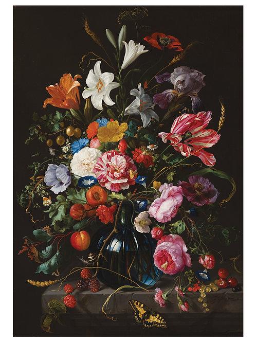 Fotobehang Golden Age Flowers - WP-231
