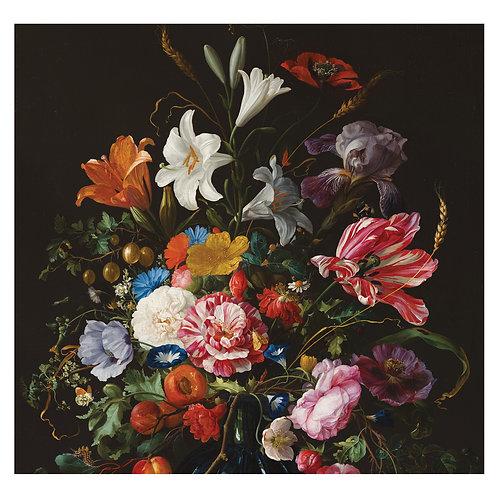 Fotobehang Golden Age Flowers - WP-232