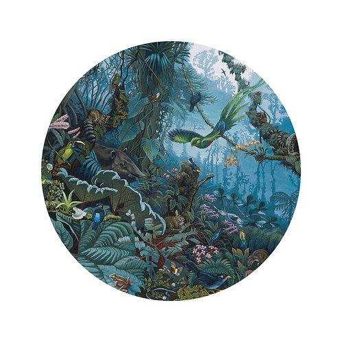 Tropisch landschap - behangcirkel - SC-021