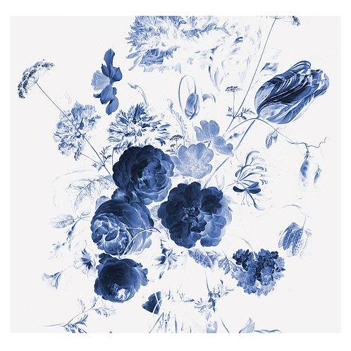 Fotobehang Royal Blue Flowers l - WP-217