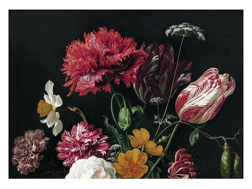 Fotobehang Golden Age Flowers - WP-221