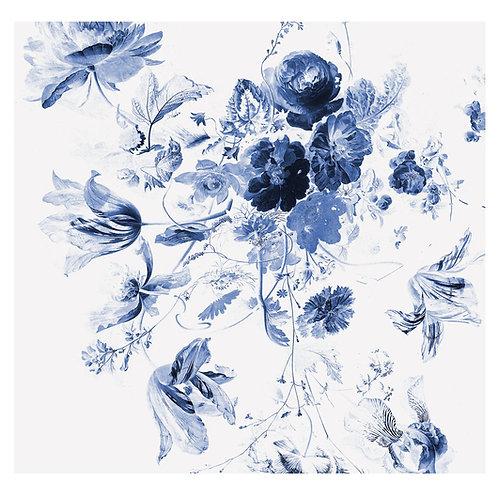 Fotobehang Royal Blue Flowers lll - WP-219