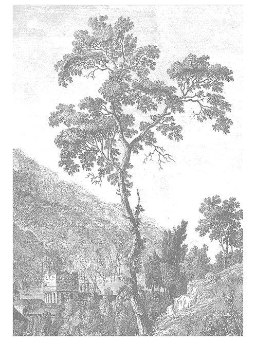 Fotobehang Engraved Landscapes l - WP-312