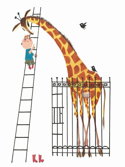 Behangpaneel Giraffe - PA-024