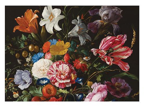 Fotobehang Golden Age Flowers - WP-234
