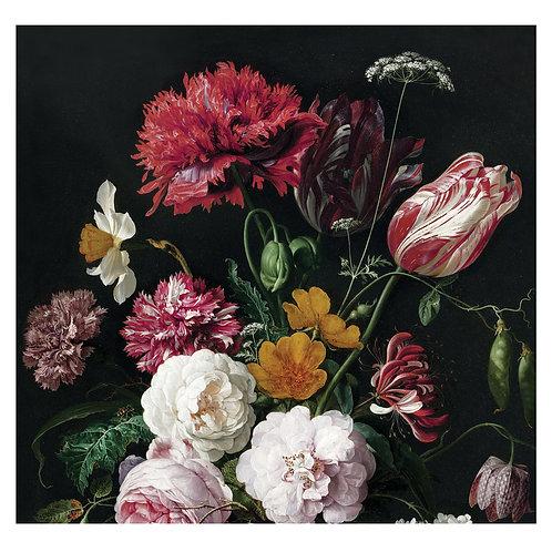 Fotobehang Golden Age Flowers - WP-211
