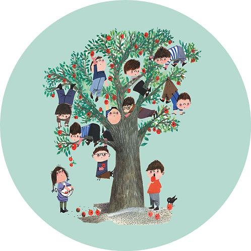 Appelboom - behangcirkel - CK-016